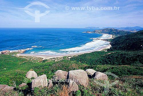 Praia da Galheta e Praia Mole - Florianópolis - Santa Catarina - Brasil - Maio de 2003  - Florianópolis - Santa Catarina - Brasil