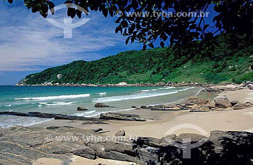 Praia do Retiro dos Padres - litoral de Santa Catarina - Brasil  - Santa Catarina - Brasil