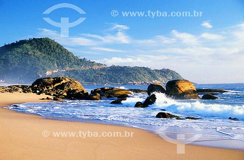 Estaleirinho - praia - litoral de Santa Catarina - Brasil  - Santa Catarina - Brasil