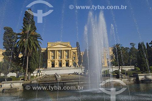 O Museu Paulista da Universidade de São Paulo ou Museu Ipiranga - São Paulo - SP - Brasil  - São Paulo - São Paulo - Brasil