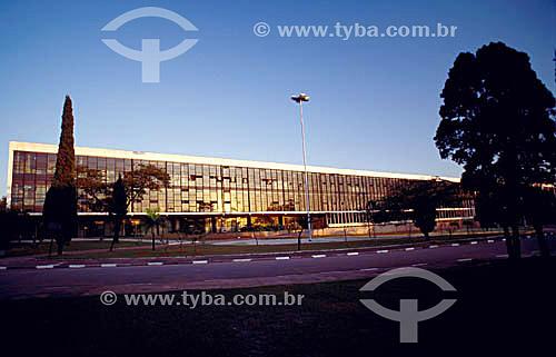 Pavilhão da Bienal no Parque do Ibirapuera - São Paulo - SP - Brasil  - São Paulo - São Paulo - Brasil