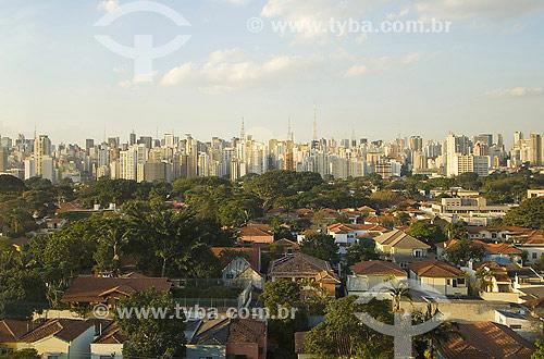 Jardim Paulista visto do Hotel Unique - São Paulo - SP - Brasil  - São Paulo - São Paulo - Brasil