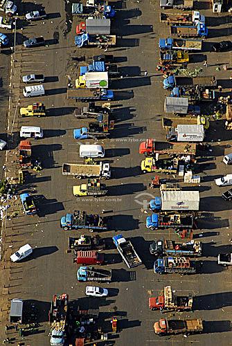 Vista aérea do CEAGESP (Companhia de Entrepostos e Armazéns Gerais de São Paulo) - São Paulo - SP - Brasil  - São Paulo - São Paulo - Brasil