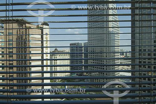 Janela com vista para Brooklin Paulista - São Paulo - SP - Brasil  - São Paulo - São Paulo - Brasil