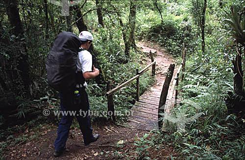 Trekking - Parque Nacional da Serra da Bocaina - SP - Brasil  / Data: 2009