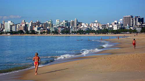 Praia de Camburi - Vitória - ESMar./2007.  - Vitória - Espírito Santo - Brasil