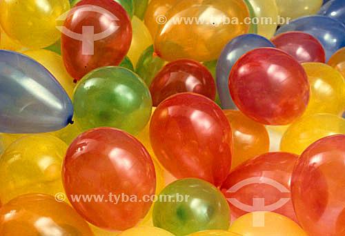 Bola , balões de festa