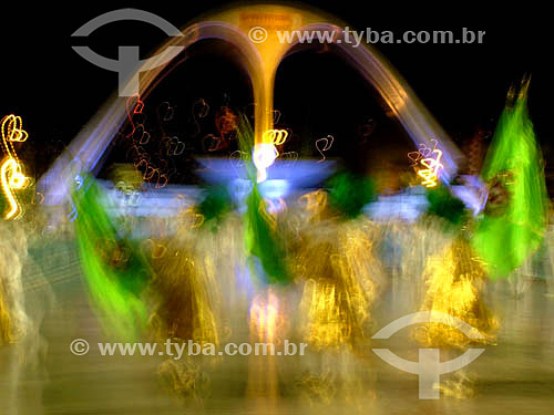 Comissão de frente da Escola de Samba