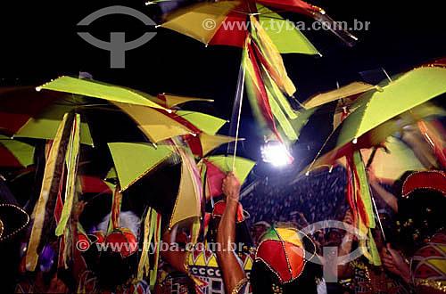 Frevo - Desfile de carnaval na Marquês de Sapucaí - Sambódromo - Rio de Janeiro - RJ - Brasil  - Rio de Janeiro - Rio de Janeiro - Brasil