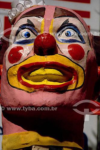 Palhaço, Alegorial de carnaval - Rio de Janeiro - RJ - Brasil  - Rio de Janeiro - Rio de Janeiro - Brasil