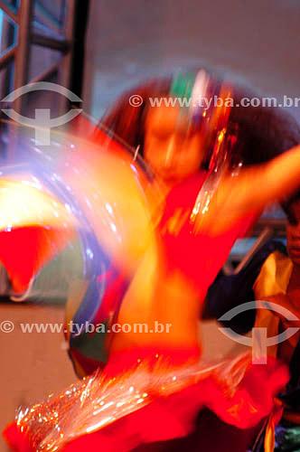 Mulher dançando frevo - Pernambuco - Brasil                  - Pernambuco - Brasil