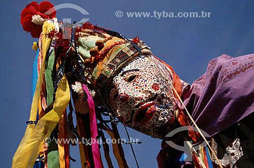 Assunto: Folclore - Folia de Reis / Local: São Francisco - Minas Gerais (MG) - Brasil / Data: 2007