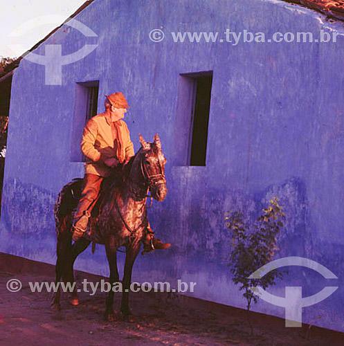 Vaqueiro nordestino / Data: 1996