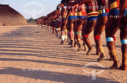 Assunto: Indios - Kuarup - Parque Nacional do Xingu (released # 23) - MT - Brasil / Data: 2007