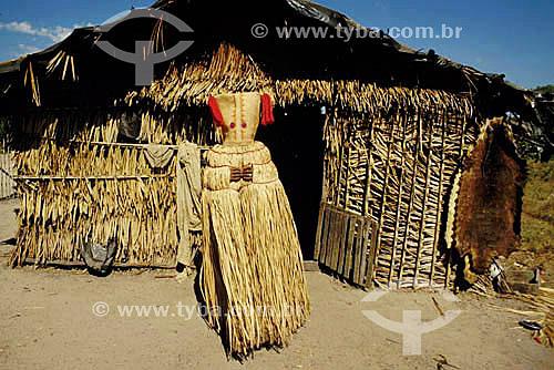 Índios Gorotire -  Nação Caiapó - São Felix do Xingu -  Pará - Brasil  - Pará - Brasil