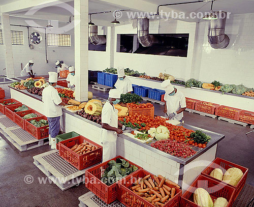 Cozinha industrial - Alimentos