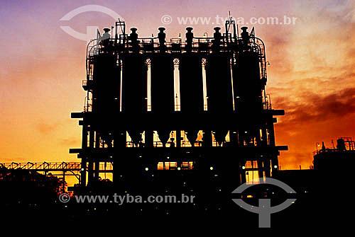 Indústria - Petroquímica de Triunfo - RS - Brasil  - Triunfo - Rio Grande do Sul - Brasil