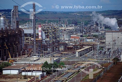 Industria Química: Polo Petroquímico de Camaçarí - BA - Brasil / Data: Década de 90