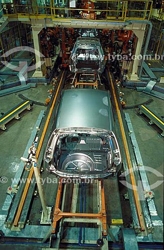 Indústria automobilística - FORD - BA - Brasil2003  - Bahia - Brasil