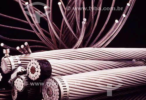 Cabos de alumínio - Indústria de alumínio - Brasil