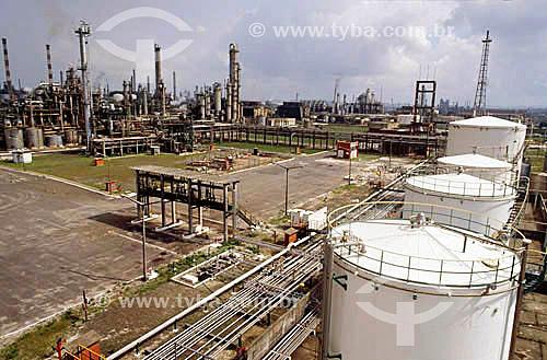 Pólo Petroquímico de Camaçari - próximo à Salvador - Bahia - Brasil / Data: 11/2005