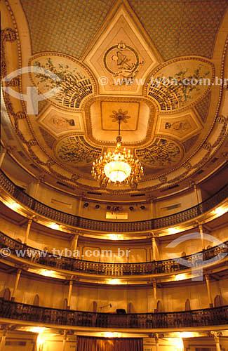 Interior do Teatro Carlos Gomes (1927) - Vitória - ES - Brasil  - Vitória - Espírito Santo - Brasil