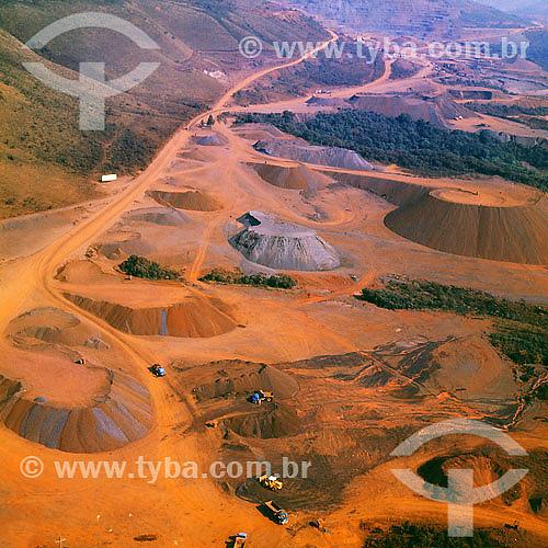 Mina do Pico - MBR - MG / 1992  - Minas Gerais - Brasil