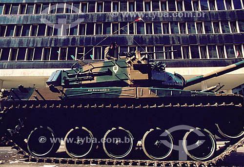 Tanque de guerra do Exército Brasileiro