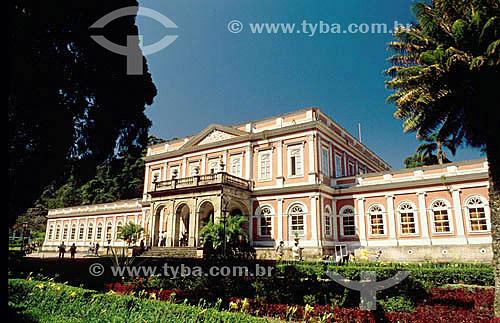 Museu Imperial  - Petrópolis - RJ - Brasil. Data: 1993  Patrimônio Histórico Nacional desde 23-09-1954.