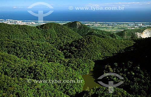 Região do Camorim localizada na Barra da Tijuca - Parque Estadual da Pedra Branca - Rio de Janeiro - RJ - Brasil / Data: 2008