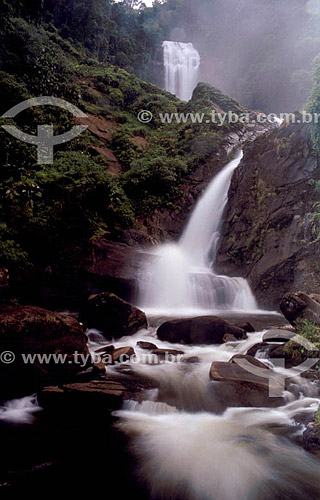 Cachoeira dos Veadeiros - Parque Nacional da Bocaina - SP - Brasil  - São Paulo - Brasil
