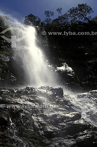 Cachoeira no Parque Nacional Ubajara - Ceará - Brasil  - Ceará - Brasil