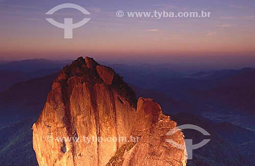 Cume da Pedra Selada - Serra da Mantiqueira - RJ - Brasil  - Serra - Rio de Janeiro - Brasil
