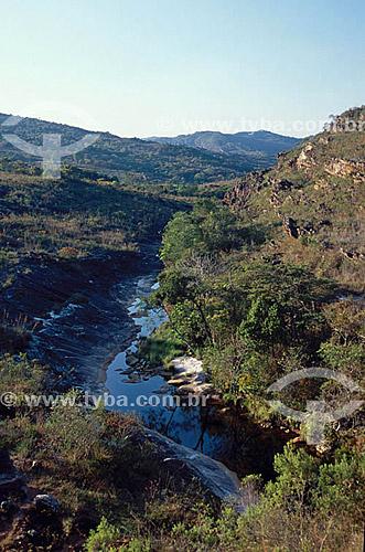 Nascente do Rio Jequitinhonha - Serra do Espinhaço - Serro - MG - Brasil.  - Serro - Minas Gerais - Brasil