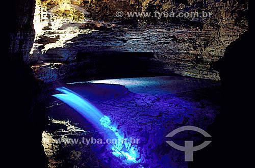 Poço Encantado - Parque Nacional da Chapada Diamantina - Cerrado - BA - Brasil / Data: 2008