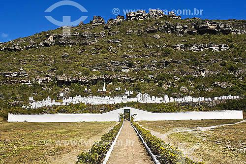 Cemitério bizantino em Mucuge - Chapada Diamantina -  BA - Brasil  - Bahia - Brasil