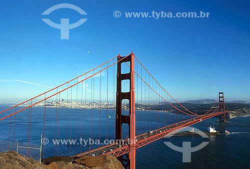 Ponte Golden Gate - San Francisco - Califórnia - Estados Unidos