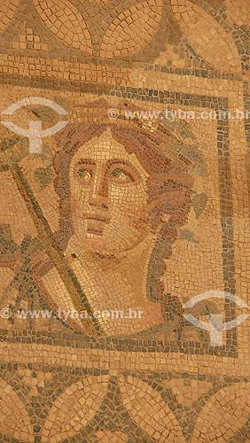 Mosaico de habitações romanas - Ephesus - 100 anos DC - Turquia - Outubro de 2007