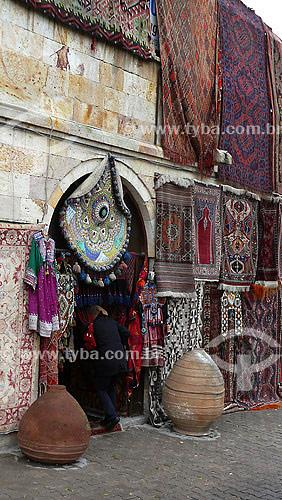 tapeçaria, comércio em Goreme - Capadócia - Turquia - Outubro de 2007