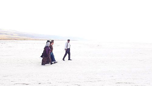 Salt Lake (Lago de sal) - Anatólia - Turquia - Outubro de 2007