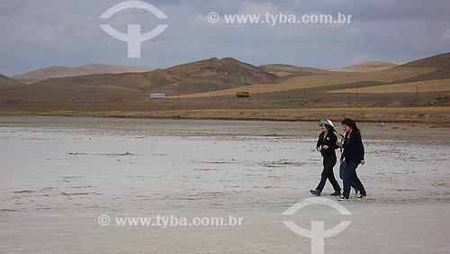 Salt Lake Anatólia (Lago de sal) - Turquia - Outubro de 2007
