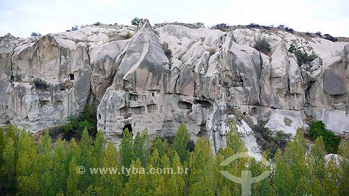 Museu Rupestre a céu aberto em Goreme - Capadócia - Turquia - Outubro de 2007