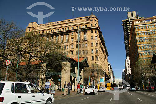 Parte antiga da cidade de Joanesburgo - África do Sul - Agosto de 2006