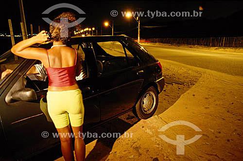 Menina - Prostituição infantil - Brasil