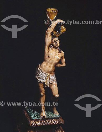 Estátua de São Sebastião,santo padroeiro do Rio de Janeiro  - Rio de Janeiro - Rio de Janeiro - Brasil