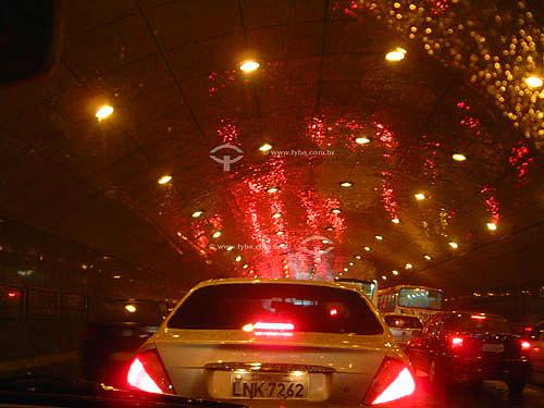 Tráfego  no Túnel Novo (Av. Princesa Isabel) - Rio de Janeiro - RJ - Brasil  - Rio de Janeiro - Rio de Janeiro - Brasil