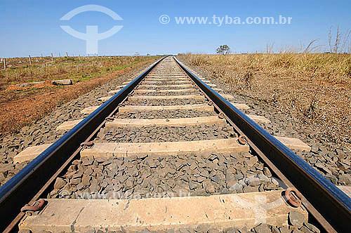 Ferrovia Ferronorte - Goiás - Brasil -  2005  - Goiás - Brasil
