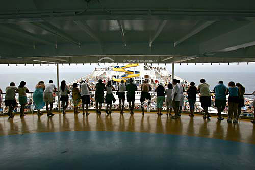 Transatlântico Costa Fortuna - Navio onde foram realizados shows do Roberto Carlos  - Brasil