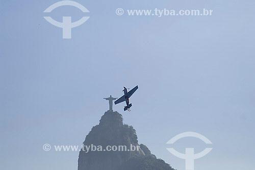 Treino do Red Bull Air Race na Praia de Botafogo no dia 18 de Abril de 2007 - Rio de Janeiro - RJ - Brasil  - Rio de Janeiro - Rio de Janeiro - Brasil