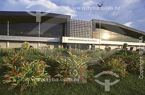 Aeroporto Internacional de Rio Branco - Acremaio de 2001  - Rio Branco - Acre - Brasil